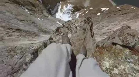 Base Jumper's Point of View